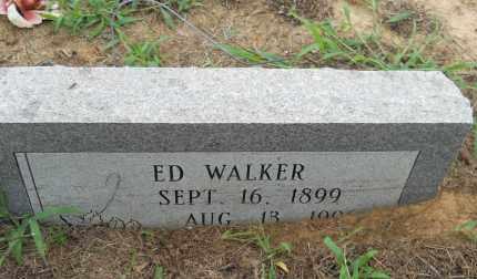 WALKER, ED - Hempstead County, Arkansas | ED WALKER - Arkansas Gravestone Photos