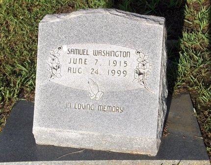 WASHINGTON, SAMUEL - Hempstead County, Arkansas   SAMUEL WASHINGTON - Arkansas Gravestone Photos