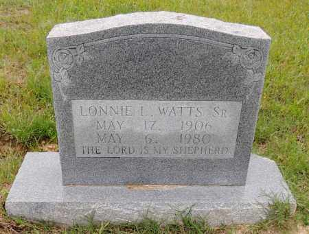 WATTS,SR, LONNIE L - Hempstead County, Arkansas | LONNIE L WATTS,SR - Arkansas Gravestone Photos