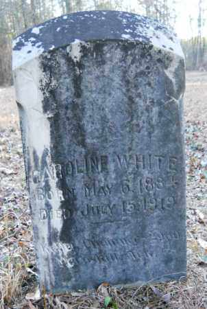 WHITE, CAROLINE - Hempstead County, Arkansas | CAROLINE WHITE - Arkansas Gravestone Photos