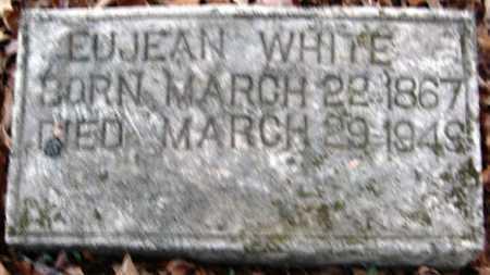 WHITE, EUJEAN - Hempstead County, Arkansas | EUJEAN WHITE - Arkansas Gravestone Photos