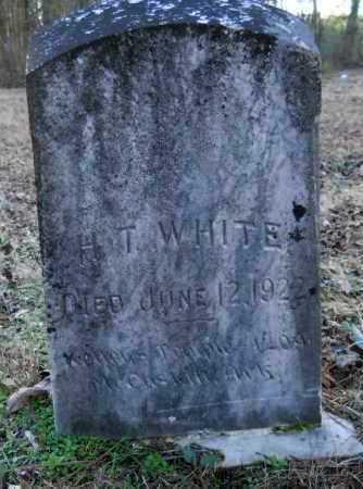 WHITE, H T - Hempstead County, Arkansas   H T WHITE - Arkansas Gravestone Photos