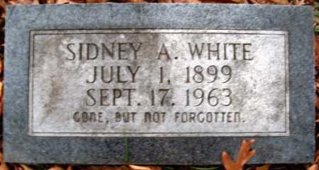 WHITE, SIDNEY A - Hempstead County, Arkansas | SIDNEY A WHITE - Arkansas Gravestone Photos