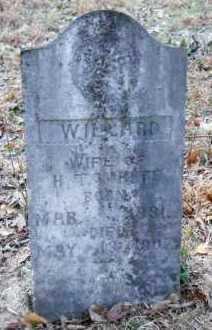 WHITE, WILLARD - Hempstead County, Arkansas | WILLARD WHITE - Arkansas Gravestone Photos
