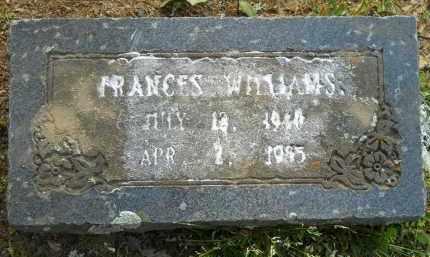 WILLIAMS, FRANCES - Hempstead County, Arkansas   FRANCES WILLIAMS - Arkansas Gravestone Photos
