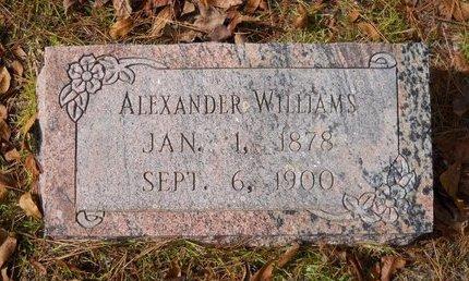 WILLIAMS, ALEXANDER - Hempstead County, Arkansas   ALEXANDER WILLIAMS - Arkansas Gravestone Photos