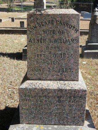 WILLIAMS, ANN BLAKE (CLOSE UP) - Hempstead County, Arkansas   ANN BLAKE (CLOSE UP) WILLIAMS - Arkansas Gravestone Photos