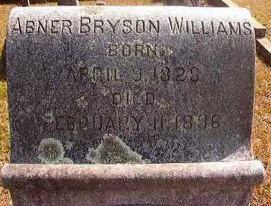 WILLIAMS, ABNER BRYSON - Hempstead County, Arkansas | ABNER BRYSON WILLIAMS - Arkansas Gravestone Photos