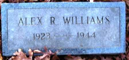 WILLIAMS, ALEX R - Hempstead County, Arkansas   ALEX R WILLIAMS - Arkansas Gravestone Photos
