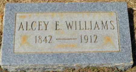 WILLIAMS, ALCEY E - Hempstead County, Arkansas | ALCEY E WILLIAMS - Arkansas Gravestone Photos