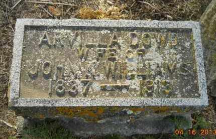 WILLIAMS, ARVILLA DOWD - Hempstead County, Arkansas | ARVILLA DOWD WILLIAMS - Arkansas Gravestone Photos