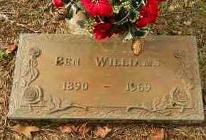 WILLIAMS, BEN - Hempstead County, Arkansas | BEN WILLIAMS - Arkansas Gravestone Photos