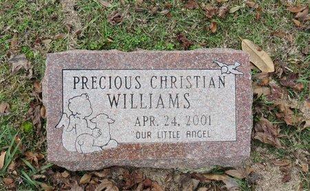WILLIAMS, CHRISTIAN - Hempstead County, Arkansas | CHRISTIAN WILLIAMS - Arkansas Gravestone Photos