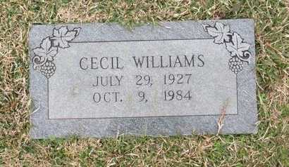 WILLIAMS, CECIL - Hempstead County, Arkansas | CECIL WILLIAMS - Arkansas Gravestone Photos