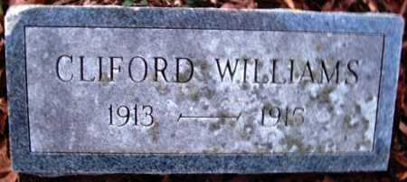 WILLIAMS, CLIFORD - Hempstead County, Arkansas | CLIFORD WILLIAMS - Arkansas Gravestone Photos