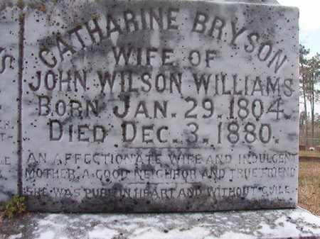 WILLIAMS, CATHARINE (CLOSE UP) - Hempstead County, Arkansas   CATHARINE (CLOSE UP) WILLIAMS - Arkansas Gravestone Photos