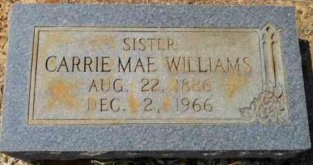 WILLIAMS, CARRIE MAE - Hempstead County, Arkansas | CARRIE MAE WILLIAMS - Arkansas Gravestone Photos