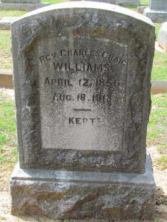 WILLIAMS, CHARLES CRAIG,REV - Hempstead County, Arkansas | CHARLES CRAIG,REV WILLIAMS - Arkansas Gravestone Photos