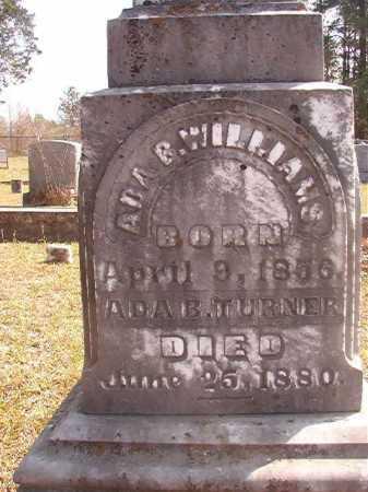 WILLIAMS, ADA B (CLOSEUP) - Hempstead County, Arkansas   ADA B (CLOSEUP) WILLIAMS - Arkansas Gravestone Photos