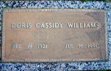 WILLIAMS, DORIS - Hempstead County, Arkansas   DORIS WILLIAMS - Arkansas Gravestone Photos