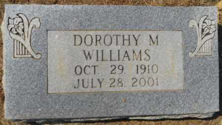 WILLIAMS, DOROTHY M - Hempstead County, Arkansas   DOROTHY M WILLIAMS - Arkansas Gravestone Photos