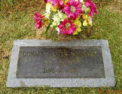 WILLIAMS, DONALD FOSTER - Hempstead County, Arkansas   DONALD FOSTER WILLIAMS - Arkansas Gravestone Photos