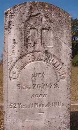 WILLIAMS, JAMES A, DR - Hempstead County, Arkansas | JAMES A, DR WILLIAMS - Arkansas Gravestone Photos