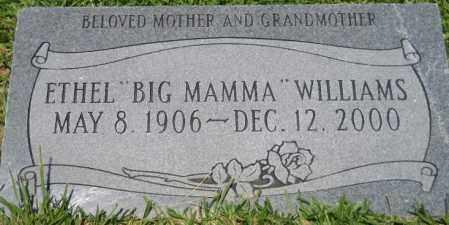 "WILLIAMS, ETHEL ""BIG MAMA"" - Hempstead County, Arkansas | ETHEL ""BIG MAMA"" WILLIAMS - Arkansas Gravestone Photos"