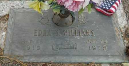 WILLIAMS, EDNA S - Hempstead County, Arkansas   EDNA S WILLIAMS - Arkansas Gravestone Photos