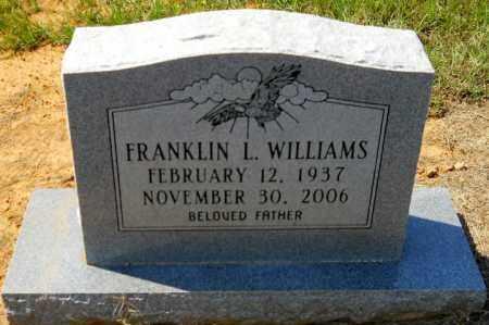 WILLIAMS, FRANKLIN L - Hempstead County, Arkansas | FRANKLIN L WILLIAMS - Arkansas Gravestone Photos