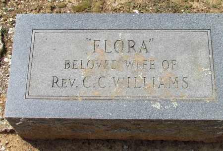 WILLIAMS, FLORA - Hempstead County, Arkansas   FLORA WILLIAMS - Arkansas Gravestone Photos