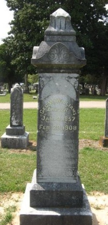 WILLIAMS, GEORGE W - Hempstead County, Arkansas   GEORGE W WILLIAMS - Arkansas Gravestone Photos