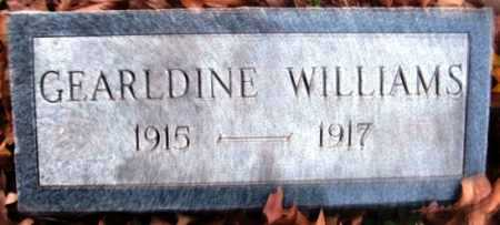 WILLIAMS, GEARLDINE - Hempstead County, Arkansas | GEARLDINE WILLIAMS - Arkansas Gravestone Photos