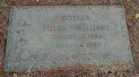WILLIAMS, HELEN - Hempstead County, Arkansas   HELEN WILLIAMS - Arkansas Gravestone Photos
