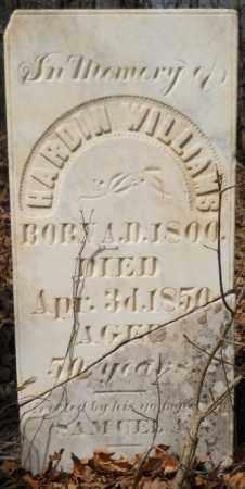 WILLIAMS, HARDIN - Hempstead County, Arkansas | HARDIN WILLIAMS - Arkansas Gravestone Photos