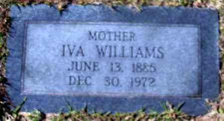 WILLIAMS, IVA - Hempstead County, Arkansas   IVA WILLIAMS - Arkansas Gravestone Photos