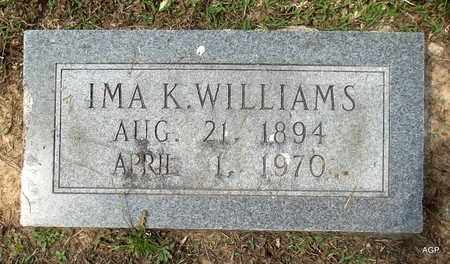 WILLIAMS, IMA K - Hempstead County, Arkansas | IMA K WILLIAMS - Arkansas Gravestone Photos