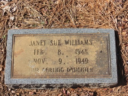 WILLIAMS, JANET SUE - Hempstead County, Arkansas   JANET SUE WILLIAMS - Arkansas Gravestone Photos