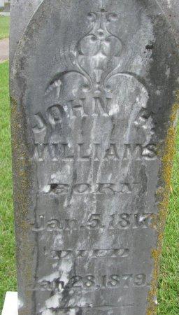 WILLIAMS, JOHN H (CLOSEUP) - Hempstead County, Arkansas   JOHN H (CLOSEUP) WILLIAMS - Arkansas Gravestone Photos