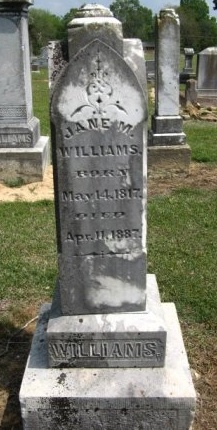 WILLIAMS, JANE - Hempstead County, Arkansas | JANE WILLIAMS - Arkansas Gravestone Photos