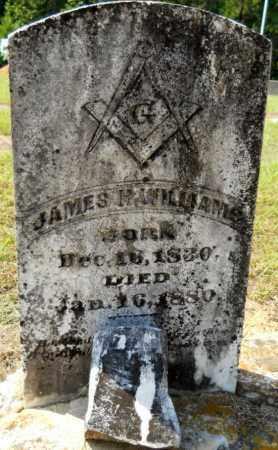 WILLIAMS, JAMES H - Hempstead County, Arkansas   JAMES H WILLIAMS - Arkansas Gravestone Photos