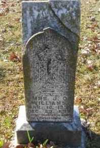 WILLIAMS, J. D.., MRS - Hempstead County, Arkansas   J. D.., MRS WILLIAMS - Arkansas Gravestone Photos