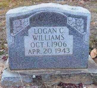 WILLIAMS, LOGAN CHARLES - Hempstead County, Arkansas | LOGAN CHARLES WILLIAMS - Arkansas Gravestone Photos