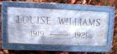 WILLIAMS, LOUISE - Hempstead County, Arkansas   LOUISE WILLIAMS - Arkansas Gravestone Photos