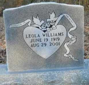WILLIAMS, LEOLA - Hempstead County, Arkansas | LEOLA WILLIAMS - Arkansas Gravestone Photos