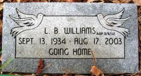 WILLIAMS, L B - Hempstead County, Arkansas   L B WILLIAMS - Arkansas Gravestone Photos