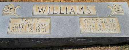 WILLIAMS, LOU E - Hempstead County, Arkansas | LOU E WILLIAMS - Arkansas Gravestone Photos