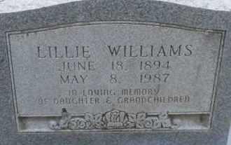 WILLIAMS, LILLIE - Hempstead County, Arkansas   LILLIE WILLIAMS - Arkansas Gravestone Photos
