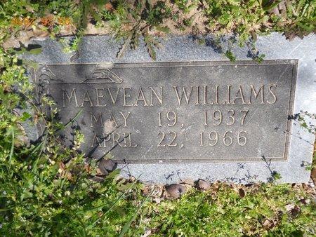 WILLIAMS, MAEVEAN - Hempstead County, Arkansas   MAEVEAN WILLIAMS - Arkansas Gravestone Photos