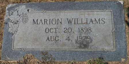 WILLIAMS, MARION - Hempstead County, Arkansas   MARION WILLIAMS - Arkansas Gravestone Photos